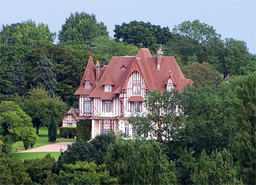 Grand manoir augeron